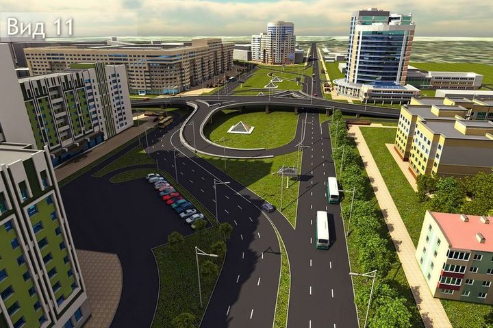 Гомельские архитекторы предлагают сделать улицу Барыкина