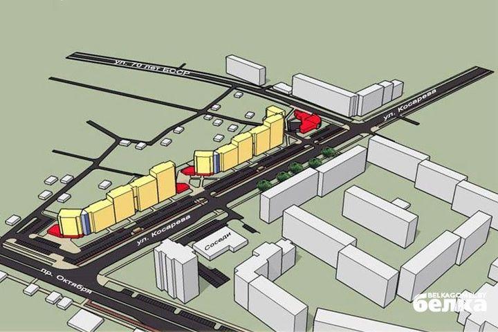 Вдоль улицы Косарева и БТЭУ ПК построят дома и велодорожки